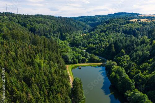 Blick auf den Wispersee im ...