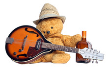 Country Style Teddy Bear And M...