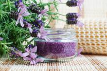 Homemade Purple Exfoliating Sc...