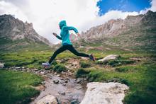 Woman Ultra Marathon Trail Run...
