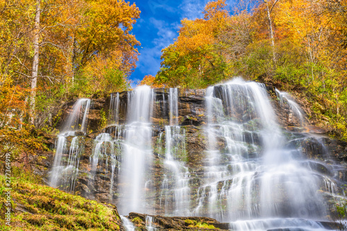 Canvas Prints Forest river Amicalola Falls, Georgia, USA
