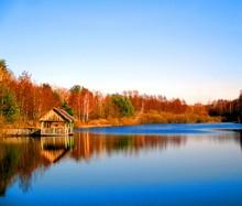 Gazebo On The Lake