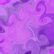 canvas print picture - liquid abstract background with oil painting streaks