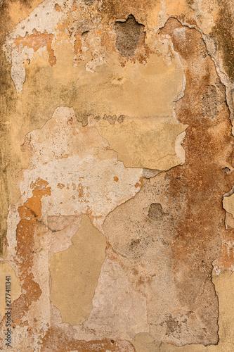 Foto auf AluDibond Alte schmutzig texturierte wand Wandtextur