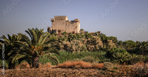 Con. Antique Falconara Castle in Sicily