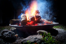 Summer Camp Fire Pit