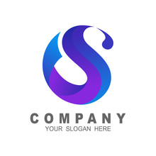 Letter Logo S With A Simple Look, , Letter S Logo Design Template