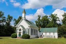 Small Quaint Country Church On...