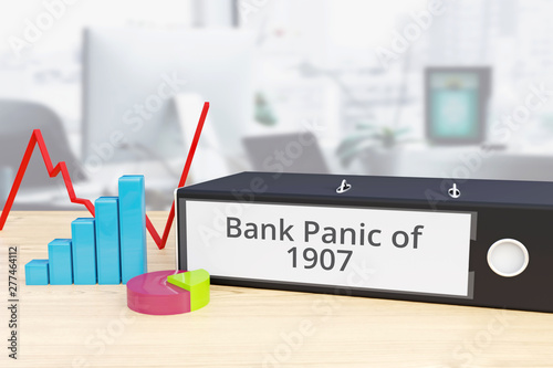 Photo  Bank Panic of 1907 - Finance/Economy
