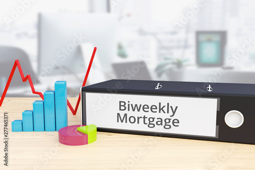 Biweekly Mortgage - Finance/Economy Wallpaper Mural