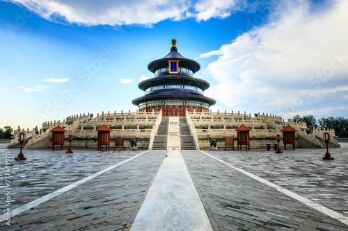 Keuken foto achterwand Temple Temple of Heaven,the landmark of beijing,china.