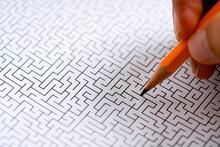 迷路と鉛筆