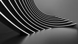 Fototapeta Do przedpokoju - Abstract Architecture Background. Minimal Graphic Design