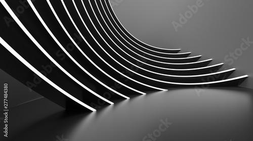 Obraz Abstract Architecture Background. Minimal Graphic Design - fototapety do salonu