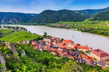 Wachau Valley, Austria. The Me...