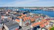 Luftbild Aalborg