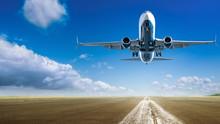Take Off Of An Modern Aircraft