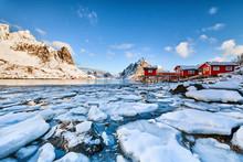 Landscape Of Norway Lofotens W...