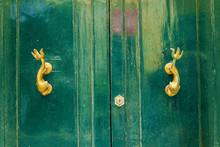 Texture Of Wooden Doors In Malta