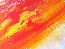 Abstract Background Colorful O...