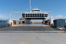 Car Ferry Waiting For Passengers