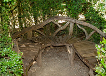 Wooden Bench In The Gardens O...