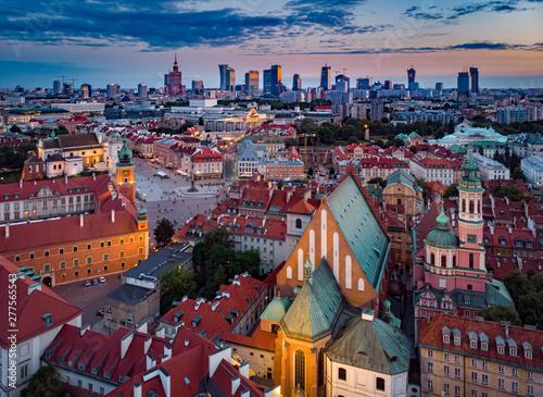 Fototapeta Warszawa - plac Zamkowy obraz