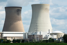 A Large Nuclear Power Plant In...