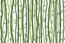 Seamless Pattern With Bamboo S...