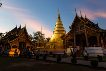Temple In Chingmai Thailand