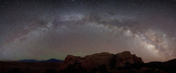 milky way over Capitol Reef National Park
