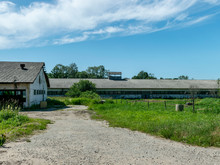 Cattle Farm Complex. Very Interesting Roof