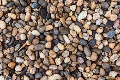 Fotografie, Obraz  Small rocks or stone texture.