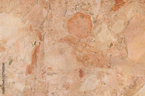 Foto auf AluDibond Alte schmutzig texturierte wand background of old cracked natural marble of red, yellow color with spots of different size and color