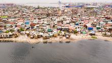 Slums In Manila Near The Port....