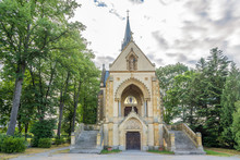 Bucquoy Chapel At The Cemetery Of Nove Hrady In Czech Republic