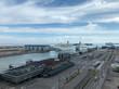 Kreuzfahrtschiffe Westhafen Helskinki Infrastruktur