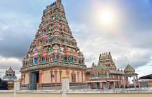 Mauritius. Hindu Temple