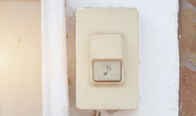 Door Bell Button At The Front ...