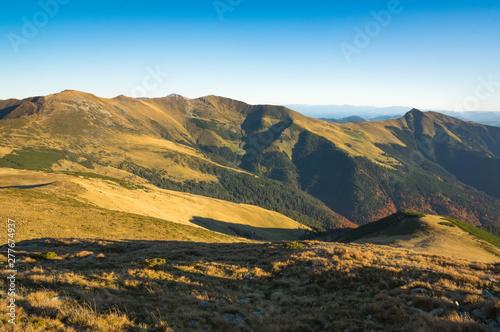 Fototapeta Mountain Landscape - Transilvania, Romania, Freedom, Hiking. obraz na płótnie