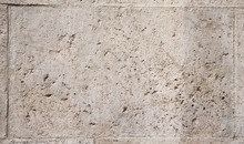 Background Of Fragment Of Old Roman Stone Wall