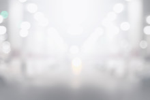 Abstract Black And White Bokeh Background For Backdrop Design, Bokeh Composition For , Website, Magazine Or Graphic For Commercial Campaign Design