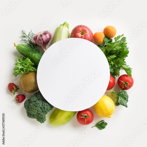 Organic Food Background