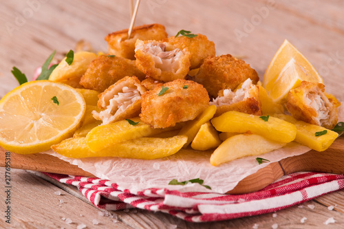 Poster Ecole de Danse Fish and chips.