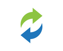 Symbol Of Bidirectional Arrows...