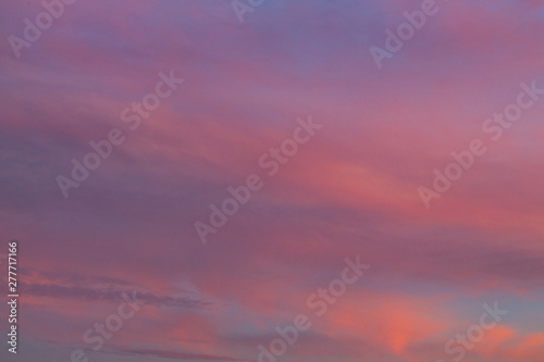 Photo Stands Candy pink Amazing Sunset Colorful Cloud Background
