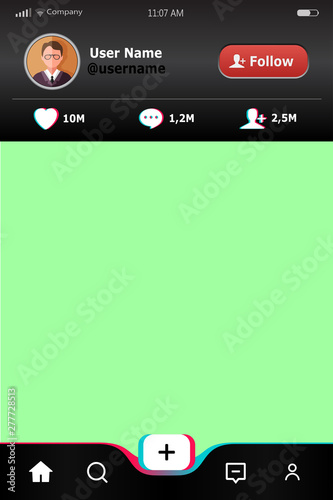 Mobile App template  Background for mobile connection with