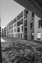 Unfinished Construction Site W...