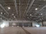 interior empty exhibition hall