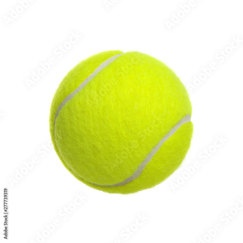 Fotografie, Obraz tennis ball on white